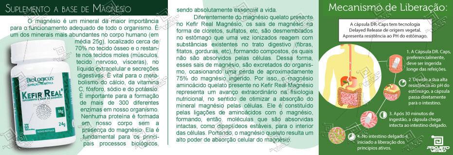Kefir Real Magnésio, Loja Projeto Verão