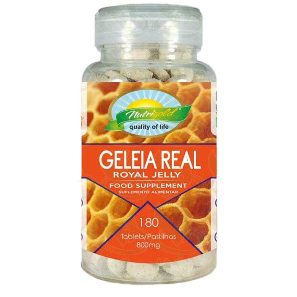 Geleia Real Royal Jelly + Cogumelo Agaricus Blazei ( 800mg ) 180 Pastilhas