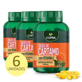 copra-kit-6x-oleo-cartamo-vitamina-e-60caps-loja-projeto-verao