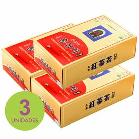 Kit_3x_Ginseng_tea_red_100_korean_Loja_Projeto_Verao