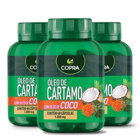 copra-kit-3x-oleo-cartamo-coco-60caps-loja-projeto-verao