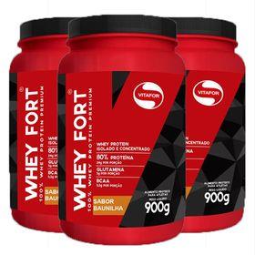 vitafor-kit-3x-whey-forte-900g-baunilha
