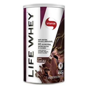 vitafor-Life-Whey-protein-450g-hidrolisado-cacau-loja-projeto-verao