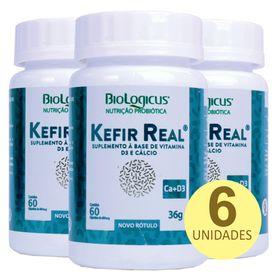 mkt-biologicus-kit-6x-kefir-real-calcio-vitamina-d3-60-capsulas-36g