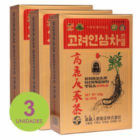 Kit_3x_Ginseng_tea_gold_korean_Loja_Projeto_Verao
