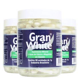 mkt-gran-white-kit-3x-90un-1g-suplemento-mineral-calcio-magnesio-loja-projeto-verao