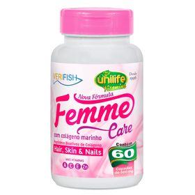 unilife-femme-care-verifish-colageno-marinho-500mg-60-capsulas-loja-projeto-verao