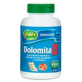 unilife-DolomitaD-calcio-magnesio-vitaminaD-biokosher-950mg-120-capsulas-loja-projeto-verao