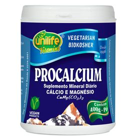 unilife-procalcium-calcio-magnesio-biokosher-400g-po-loja-projeto-verao