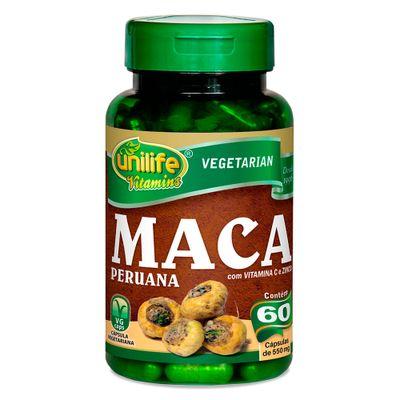 unilife-maca-peruana-vitaminaC-zinco-550mg-60-capsulas-vegetarianas-vegan-loja-projeto-verao