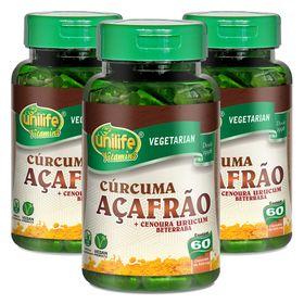 unilife-kit3x-curcuma-acafrao-cenoura-urucum-beterraba-60-capsulas-vegetarianas-loja-projeto-verao