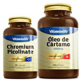 vitaminlife-oleo-cartamo-1000mg-200-softgels-chromium-picolinate-90-capsulas-loja-projeto-verao
