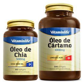 vitaminlife-oleo-cartamo-1000mg-200-softgels-chia-500mg-60-softgels-loja-projeto-verao