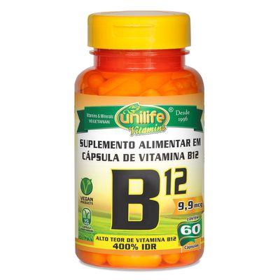 unilife-vitaminaB12-cianocobalamina-60-capsulas-vegetarianas-vegan-loja-projeto-verao