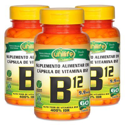 unilife-kit-3x-vitaminaB12-cianocobalamina-60-capsulas-vegetarianas-vegan-loja-projeto-verao