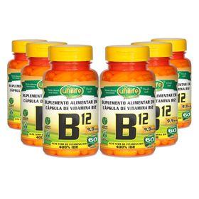unilife-kit-6x-vitaminaB12-cianocobalamina-60-capsulas-vegetarianas-vegan-loja-projeto-verao