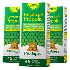 prodapys-kit-3x-extrato-propolis-verde-sem-alcool-20-extrato-seco-50mg-45-capsulas-loja-projeto-verao