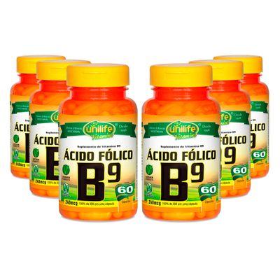 unilife-kit6x-vitaminab9-acido-folico-500mg-60-capsulas-vegetarianas-loja-projeto-verao