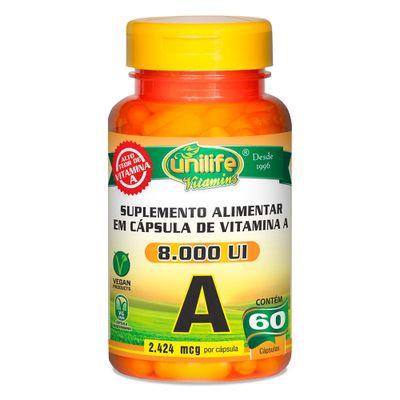 unilife-vitaminaA-retinol-8000UI--60-capsulas-vegetarianas-vegan-loja-projeto-verao