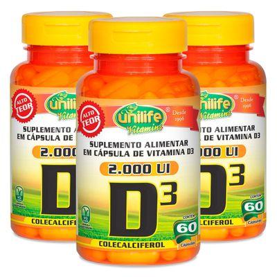 unilife-kit3x-vitaminaD3-colecalciferol-2000UI-470mg-60-capsulas-loja-projeto-verao