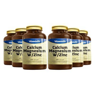 vitaminlife-kit-6x-calcium-magnesium-with-zinc-120-capsulas-loja-projeto-verao