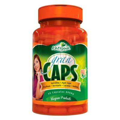 katigua-gran-caps-spirulina-agar-agar-psyllium-berinjela-laranja-inulina-800mg-60-capsulas-vegetarianas-loja-projeto-verao