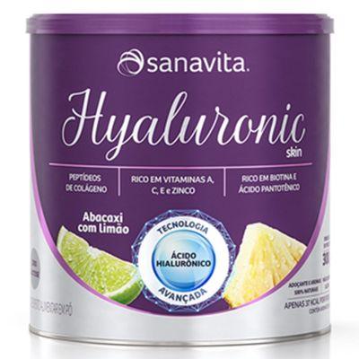 sanavita-hyaluronic-skin-colageno-abacaxi-limao-300g-loja-projeto-verao