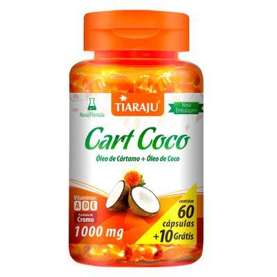 tiaraju-cart-coco-oleo-cartamo-coco-1000mg-60-capsulas-10-gratis-loja-projeto-verao
