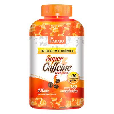 tiaraju-super-caffeine-cafeina-pura-420mg-180-capsulas-softgel-30-gratis-loja-projeto-verao