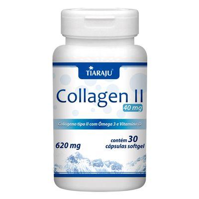 tiaraju-collagen-ii-colageno-tipo-2-40mg-omega-3-dvitamin-620mg-30-capsulas-sofgel-loja-projeto-verao