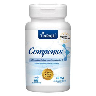 tiaraju-compenss-colageno-tipo-2-II-calcio-magnesio-dvitamin-40mg-60-comprimidos-loja-projeto-verao