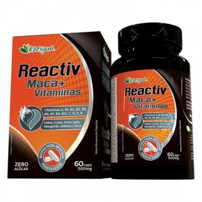 katigua-reactiv-maca-vitaminas-500mg-60-capsulas-loja-projeto-verao