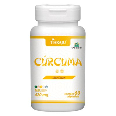 tiaraju-curcuma-jiang-huang-420mg-60-capsulas-vegetarianas-loja-projeto-verao