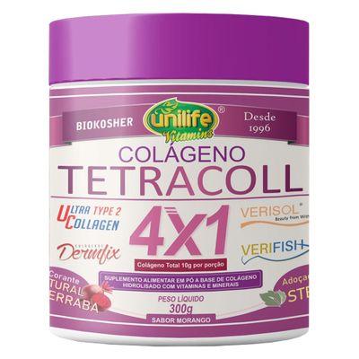 uilife-colageno-tetracol-hidrolisado-tipo-2-verisol-verifish-dermifix-ucii-4x1-sabor-morango-300g-loja-projeto-verao