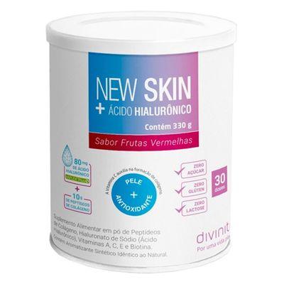 divinite-new-skin-acido-hialuronico-sabor-frutas-vermelhas-330g-loja-projeto-verao