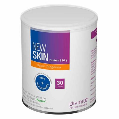 divinite-colageno-new-skin-sabor-tangerina-330g-loja-projeto-verao