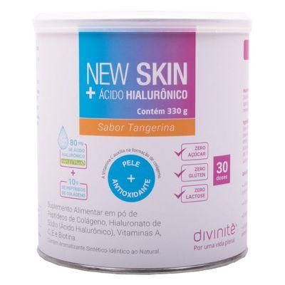 divinite-new-skin-acido-hialuronico-sabor-tangerina-330g-loja-projeto-verao