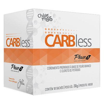 cha-mais-carbless-10-saches-30g-phase-2-feijao-branco-cloreto-potassio-loja-projeto-verao