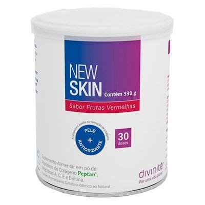divinite-colageno-new-skin-sabor-frutas-vermelhas-330g-loja-projeto-verao