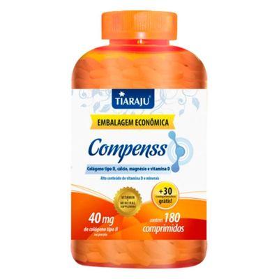 tiaraju-compenss-colageno-tipo-2-II-calcio-magnesio-dvitamin-40mg-180-comprimidos-30-gratis-loja-projeto-verao
