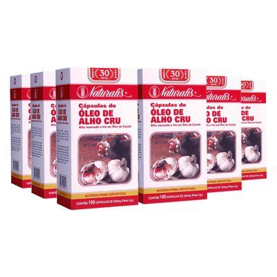 naturalis-kit-6x-oleo-de-alho-cru-250mg-100-capsulas-loja-projeto-verao