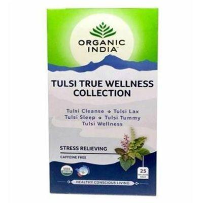 organic-india-tulsi-true-wellness-collection-cleanse-lax-sleep-tummy-wellness-25-saches-loja-projeto-verao