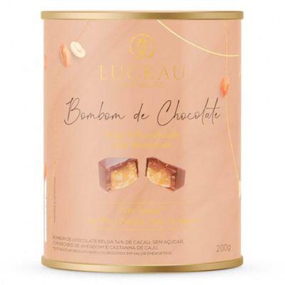 luckau-bombom-54-chocolate-belga-creme-amendoim-whey-protein-nuts-colageno-200g-loja-projeto-verao