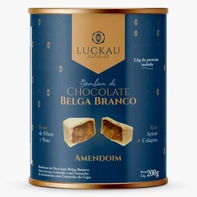 luckau-bombom-chocolate-belga-branco-amendoim-colageno-200g-loja-projeto-verao