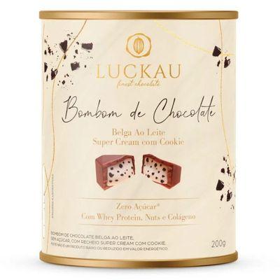 luckau-bombom-chocolate-belga-ao-leite-super-cream-cookies-whey-protein-nuts-colageno-200g-loja-projeto-verao