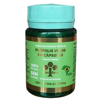 wax-green-propolis-verde-70-extrato-seco-300mg-100-capsulas-loja-projeto-verao