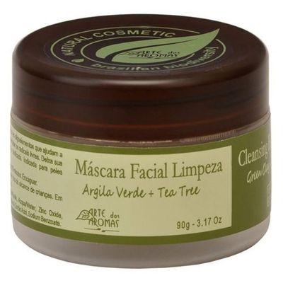 arte-dos-aromas-mascara-facial-limpeza-argila-verde-tea-tree-melaleuca-90g-loja-projeto-verao