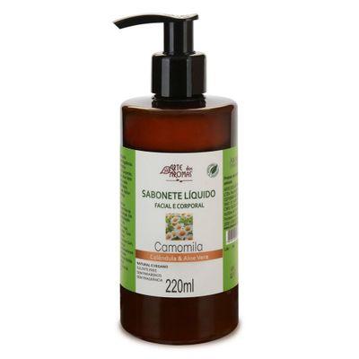 arte-dos-aromas-sabonete-liquido-facial-corportal-camomila-calendula-aloe-vera-220ml-loja-projeto-verao