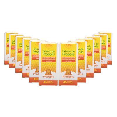 prodapys-12x-extrato-de-propolis-marrom-sem-alcool-20-extrato-seco45-capsulas-loja-projeto-verao