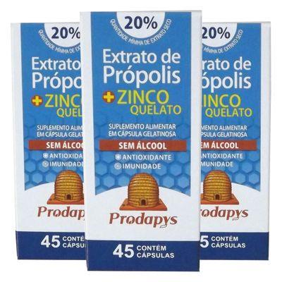 prodapys-3x-extrato-propolis-zinco-quelato-sem-alcool-20-extrato-seco-45-capsulas-loja-projeto-verao